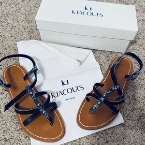 New with box K. Jacques Sandals